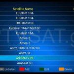 Η λίστα των 71 δορυφόρων του TELE System TS UP 4K